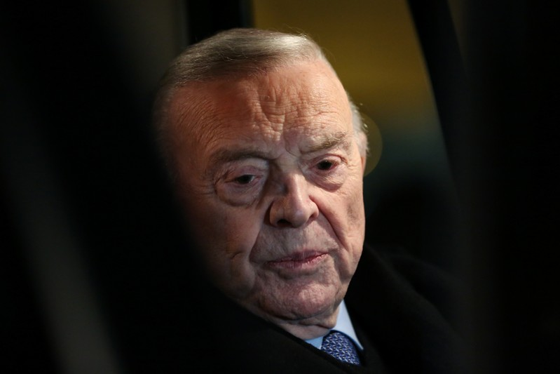 FILE PHOTO: Jose Maria Marin of Brazil, one of three defendants in the FIFA scandal, leaves the United States Federal Court in New York