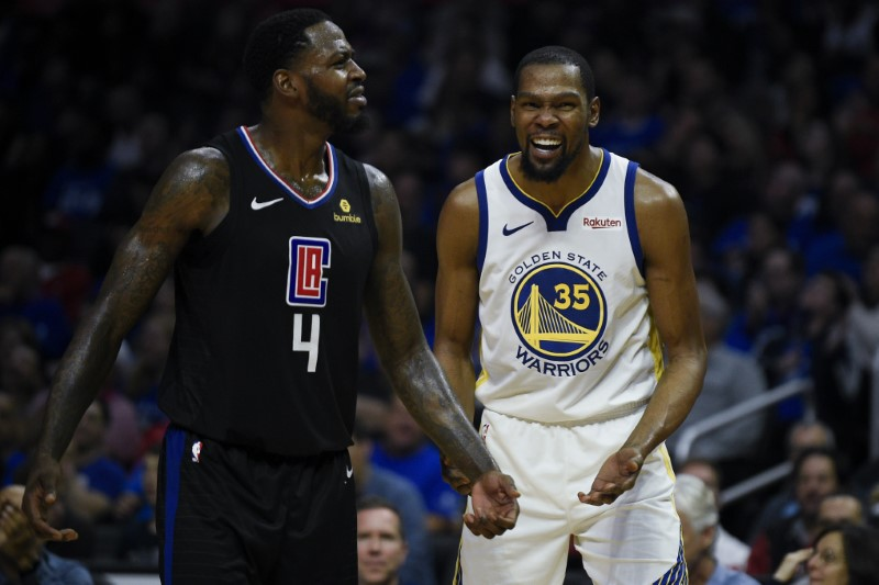 9a181929638 NBA  Playoffs-Golden State Warriors at Los Angeles Clippers