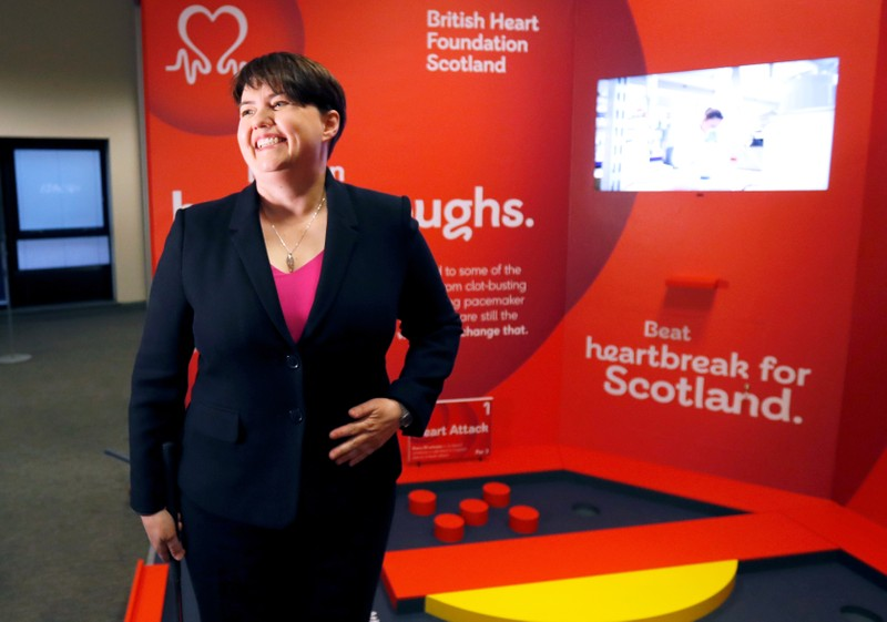 Ruth Davidson's Scottish Conservatives meet for conference in Aberdeen