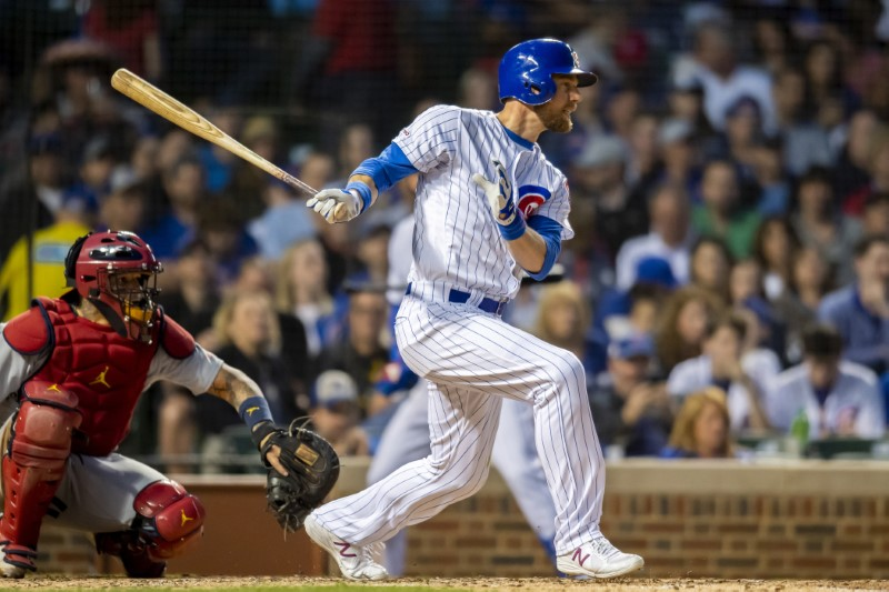 FILE PHOTO: MLB: St. Louis Cardinals at Chicago Cubs