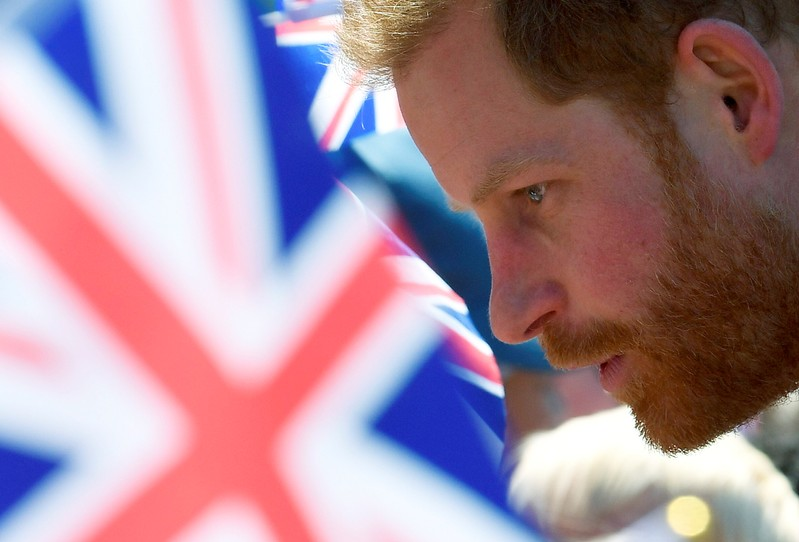 Britain's Prince Harry, Duke of Sussex, visits Oxford