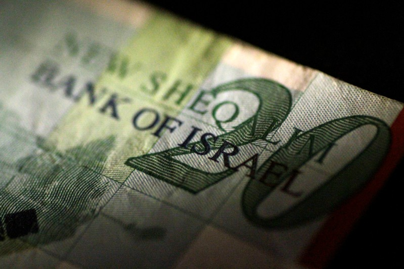 Illustration photo of an Isreal Shekel note