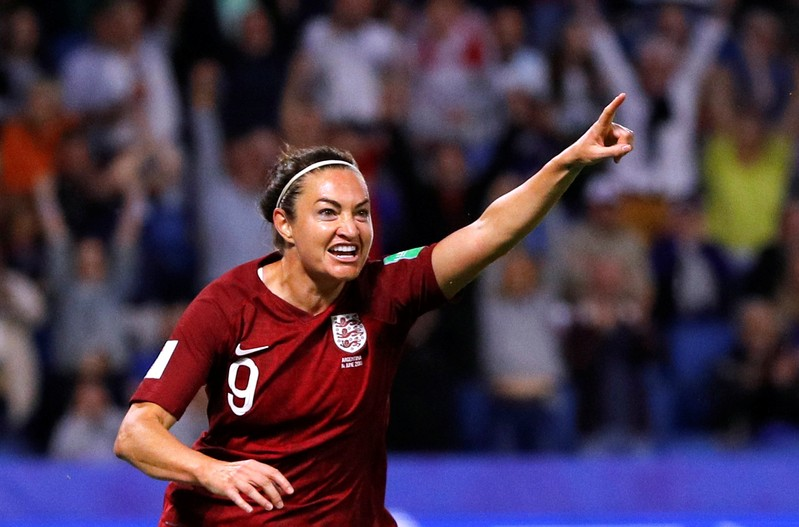 Women's World Cup - Group D - England v Argentina