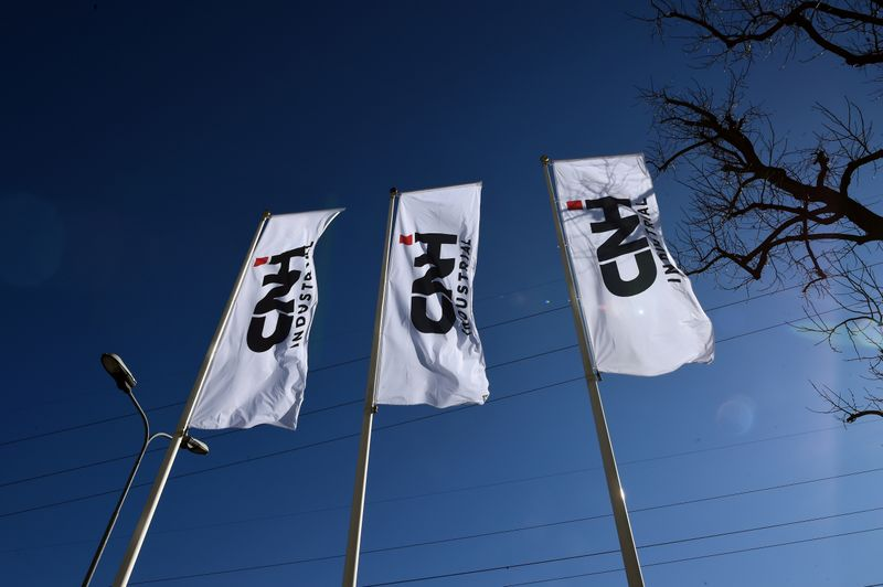 Italy's CNH Industrial aims for full production by end of May