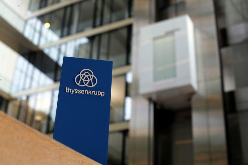 Thyssenkrupp second-quarter loss widens as coronavirus impact starts to show