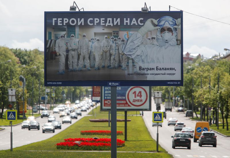 Russian prosecutors intervene after some virus bonuses to medics go awry