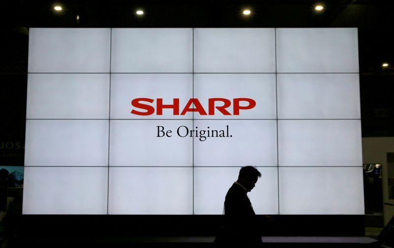 Japan's Sharp reports 37% profit drop, gives no forecasts