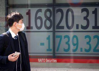 Japan shares scale 10-week peak, S&P 500 breaks 3,000 barrier