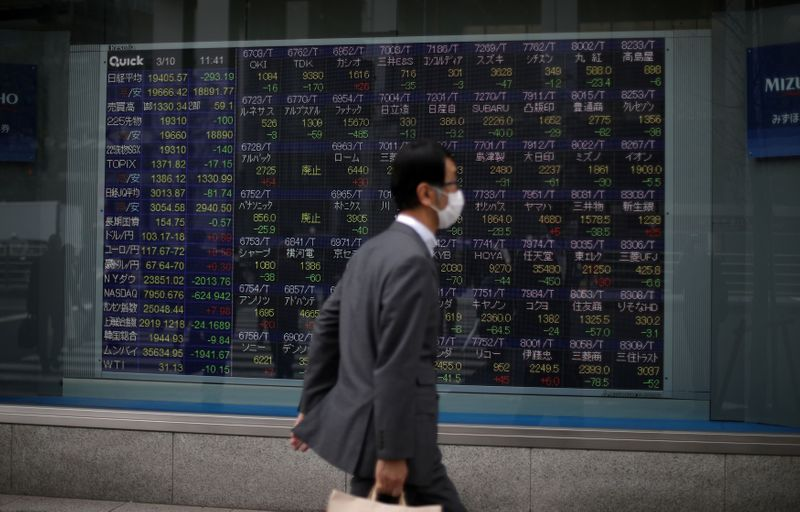 Asian stocks gain on economic hopes, but Hong Kong risk clouds outlook