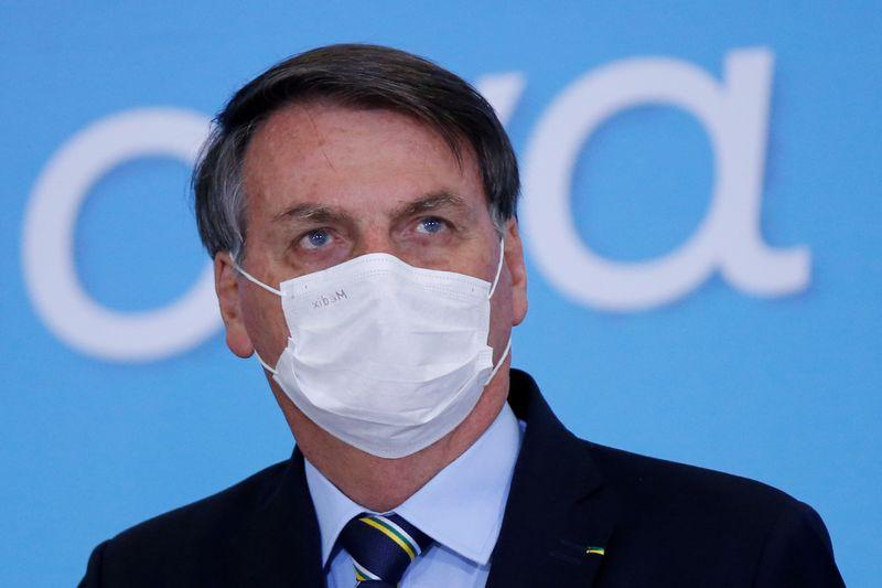 Brazil judge orders president Bolsonaro to wear a mask in public