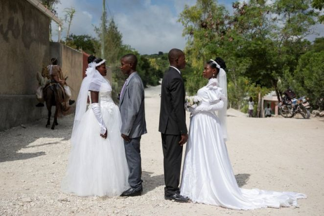 Defying protests and poverty, Haitians get creative to wed in style | One  America News Network