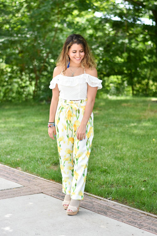 Fun Floral Pants