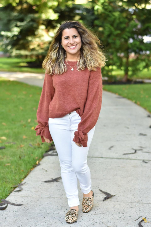 Rust Orange Sweaters