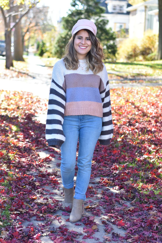 Colorblock Sweaters