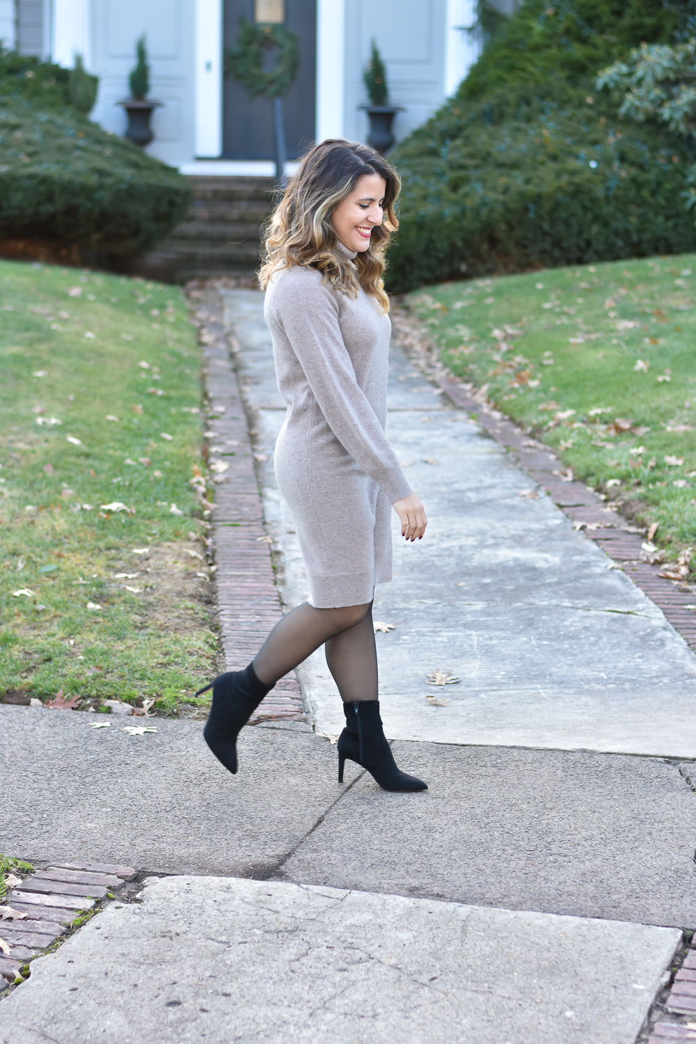 Cashmere Sweater Dress