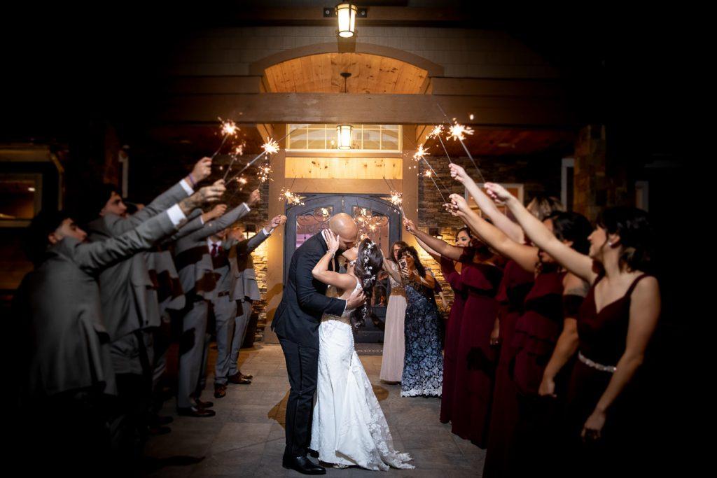 NJ Fall Wedding Bear Brook Valley