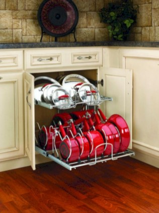 Awesome kitchen cupboard organization ideas 49