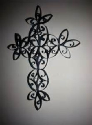 Diy paper roll wall art to beautify your home 43