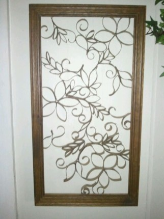 Diy paper roll wall art to beautify your home 45