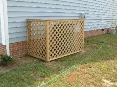 Hide your outdoor eyeshore project 17