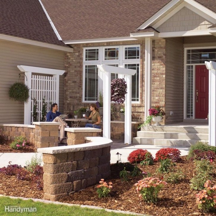 Ideas to decorate your entryway to replace porch 06
