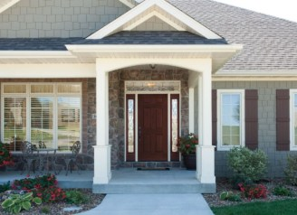 Ideas to decorate your entryway to replace porch 12