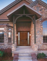 Ideas to decorate your entryway to replace porch 29