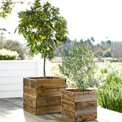 Best diy projects with pallet for your garden 22