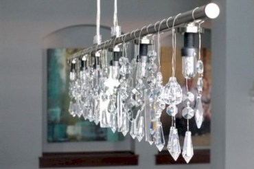 Crazy and cool diy chandeliers to beautify your space 09