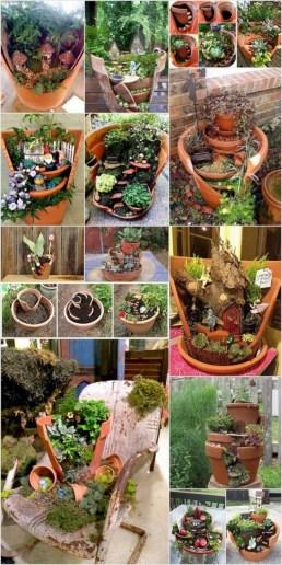 Super easy diy fairy garden ideas 15