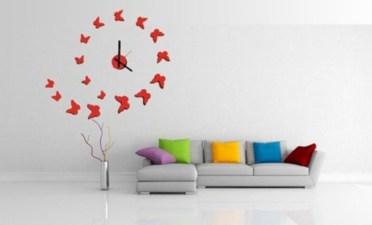Unusual modern wall clock design ideas 04