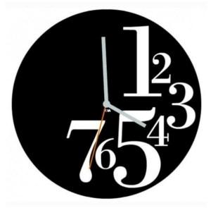 Unusual modern wall clock design ideas 08