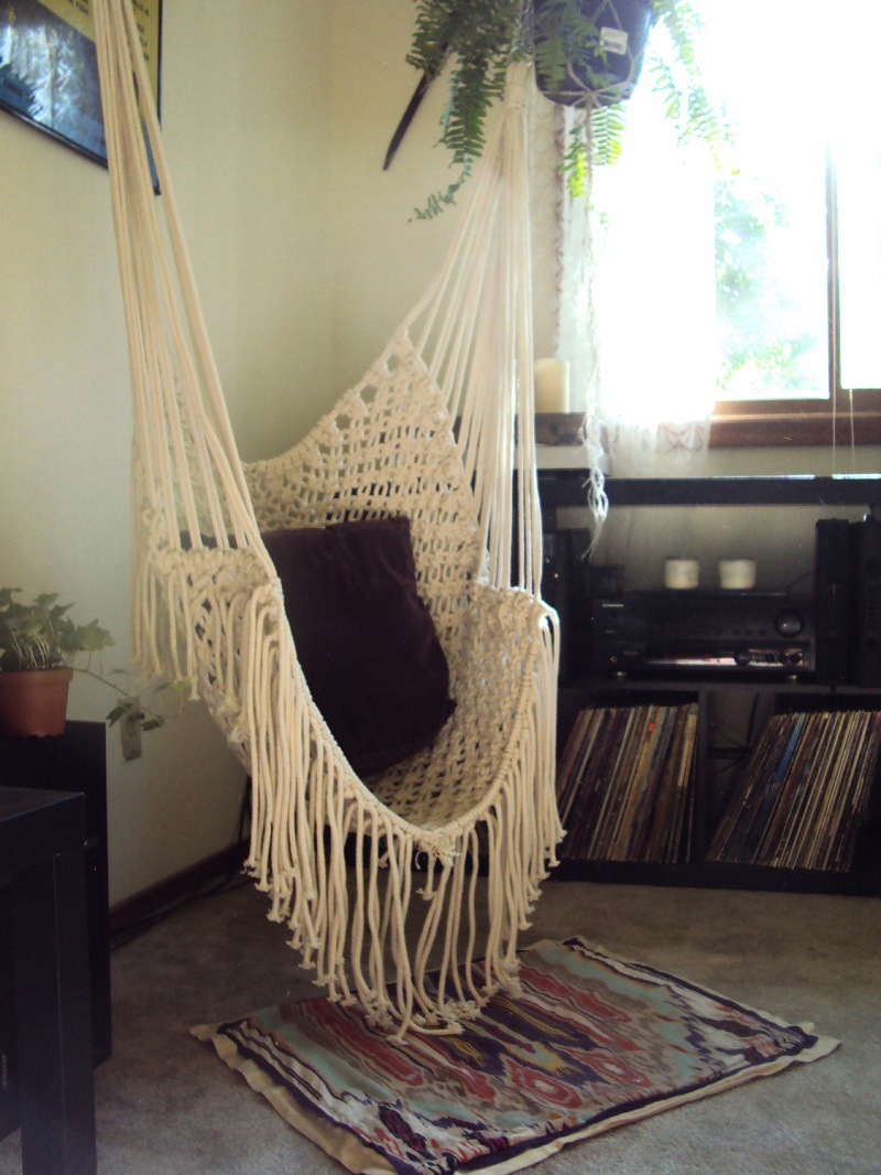 Simple Macrame Chair