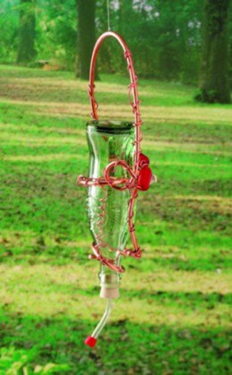 Hummingbird feeder