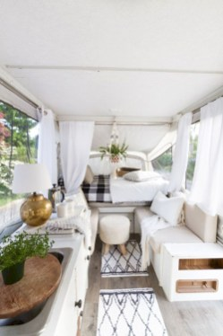Rv living decor to make road trip so awesome 03
