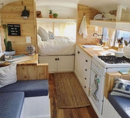 Rv living decor to make road trip so awesome 37
