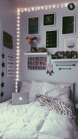Easy and awesome wall light ideas for teens 09