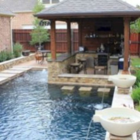 Coolest small pool ideas for your home 32
