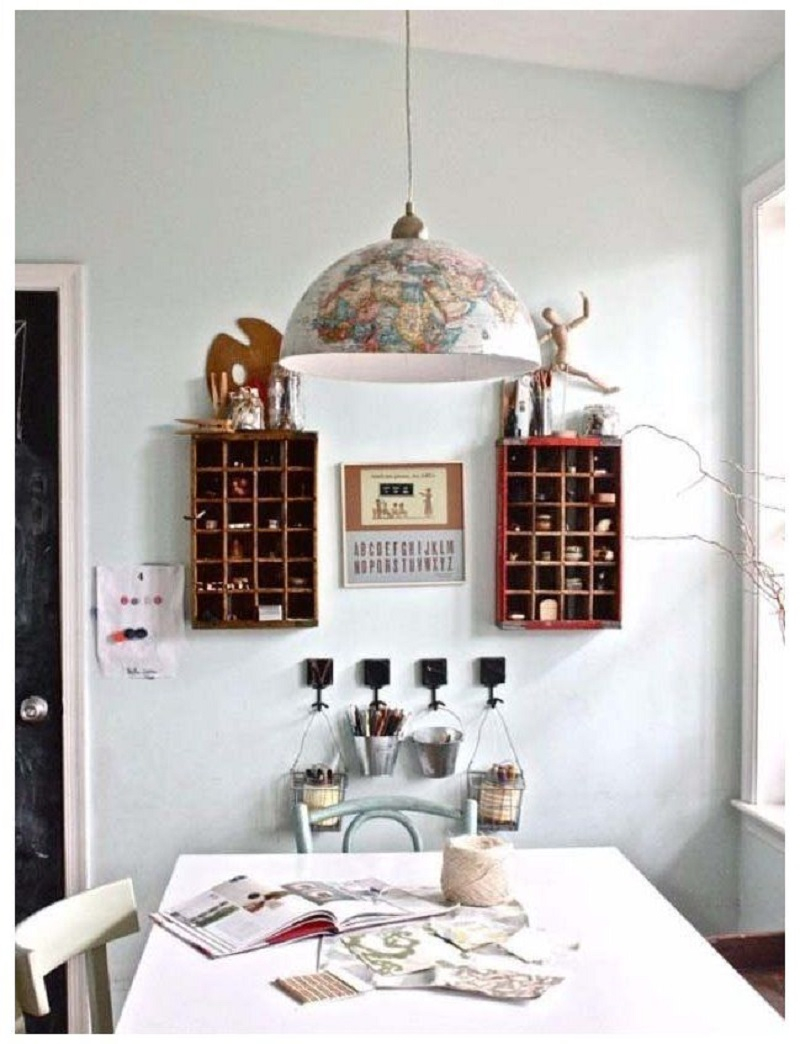 Globe pendant light Undoubtedly Gorgeous DIY Pendant Light Fixtures From Upcycle Items