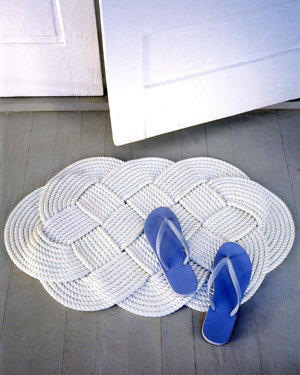 DIY Braided Doormat DIY Doormat That Offers You Impressive Yet Inexpensive Ideas