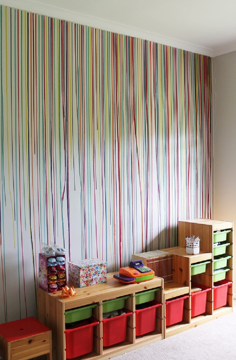Diy drippy wall Appealing DIY Ideas To Paint On Blank Wall Where Teenage Can Do