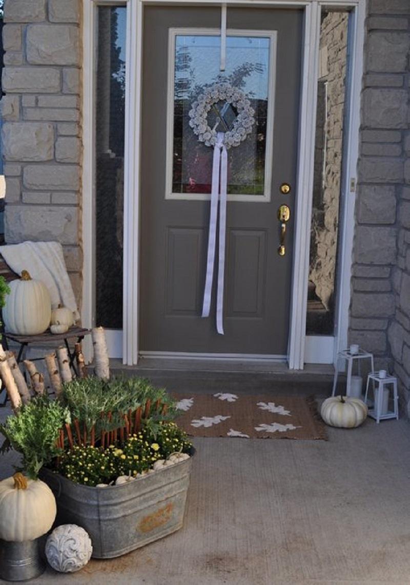 Diy fall doormat DIY Doormat That Offers You Impressive Yet Inexpensive Ideas