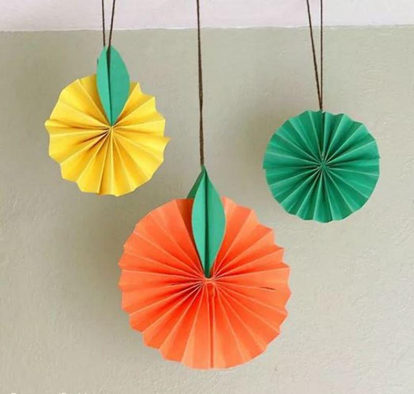 Diy hanging fruits