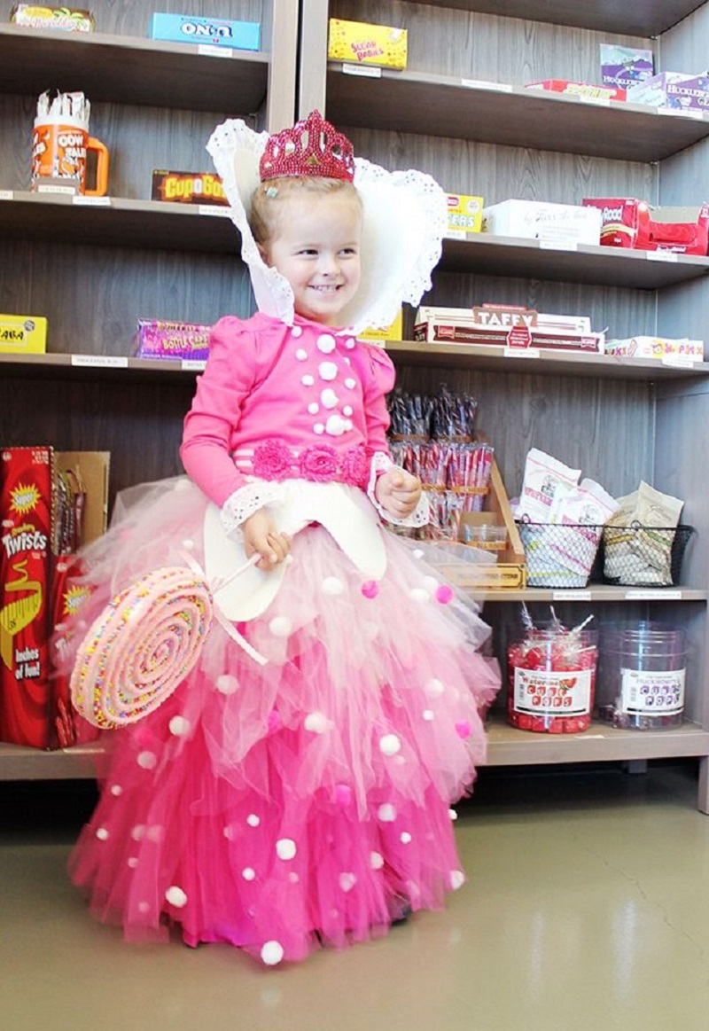 Diy princess in a day costume yes DIY Adorable Tutus You Can Do That Have Been Loves by Your Little Girls