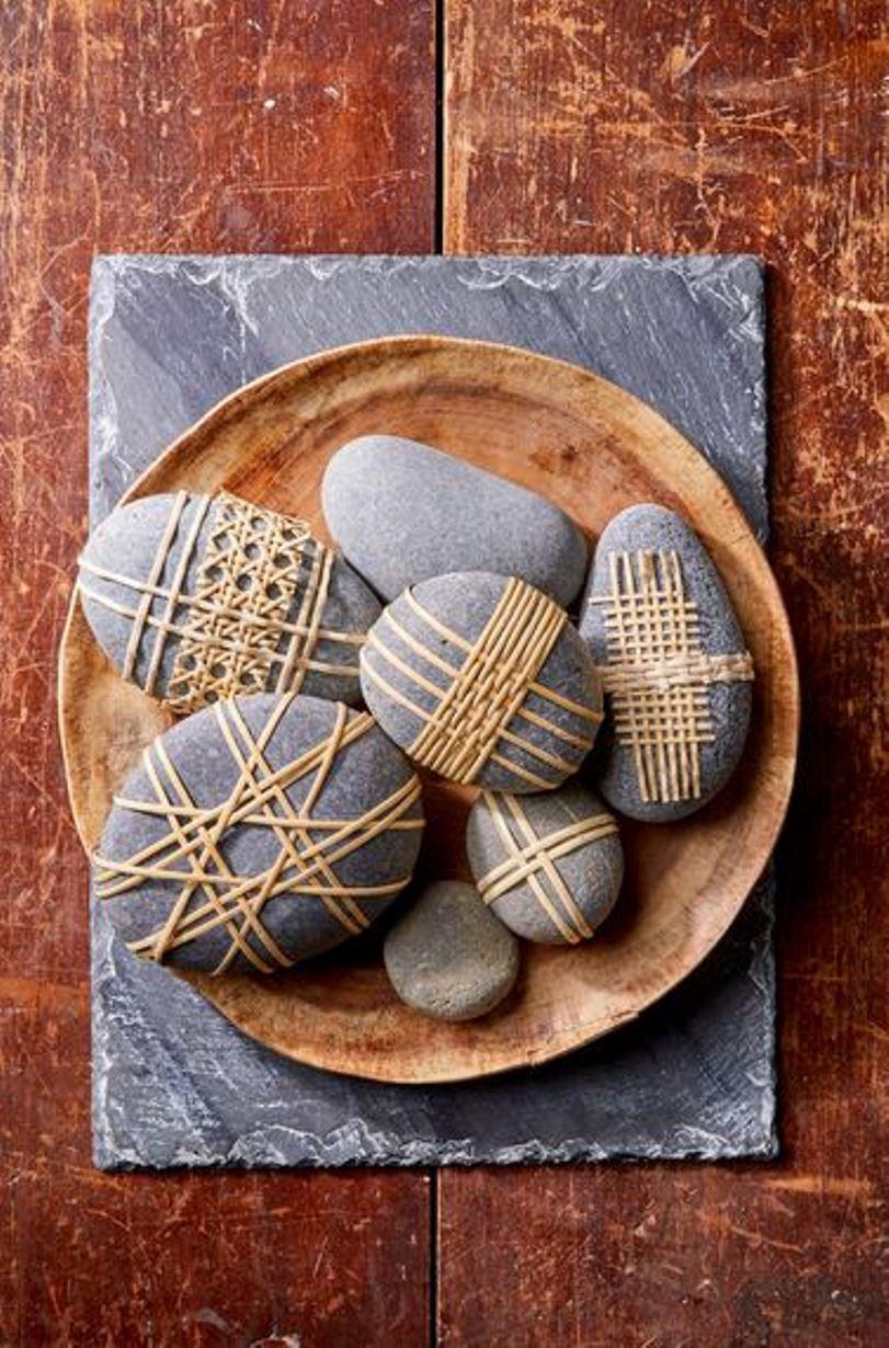 Decorative cane stones
