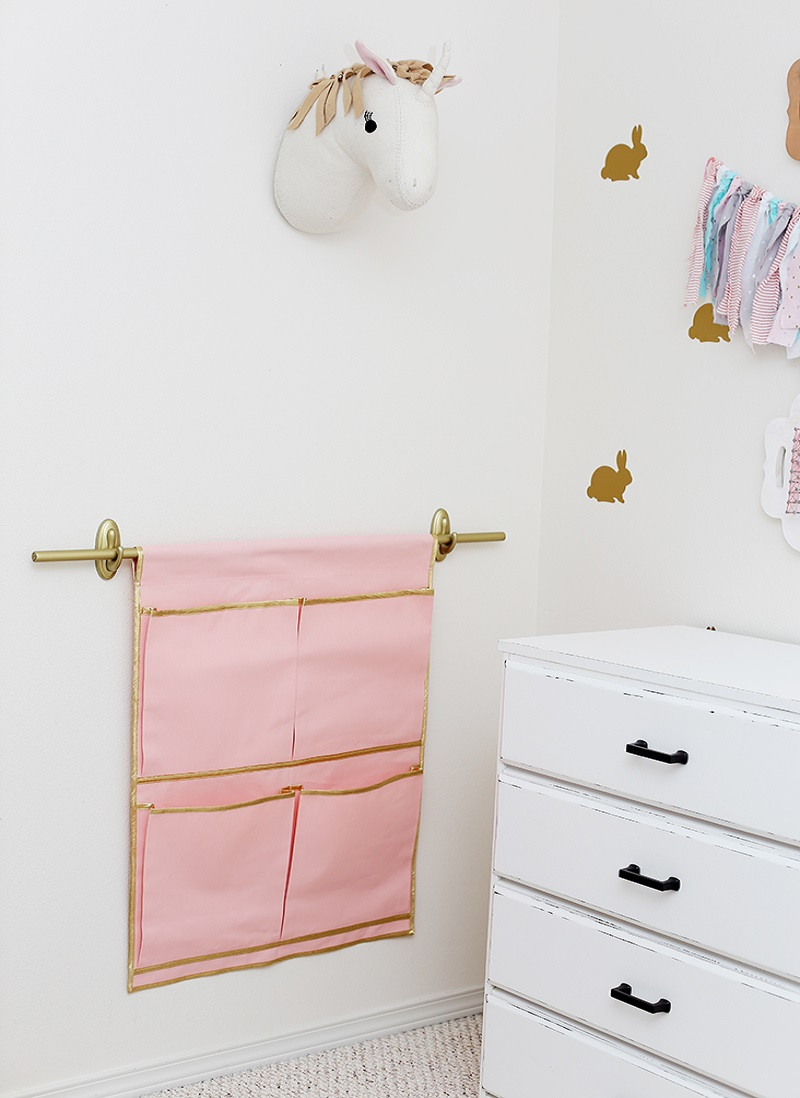 Wall pocket organizer Effortless DIY Sewing Projects To Create A Beautiful Effect To Your Home