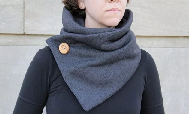 Cute cowl neck scarf