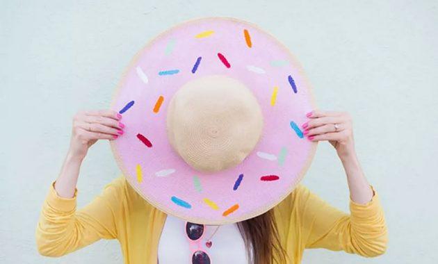 Donut floppy hat