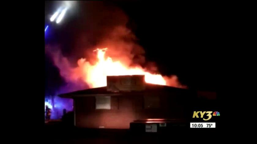 fire damages popular nixa