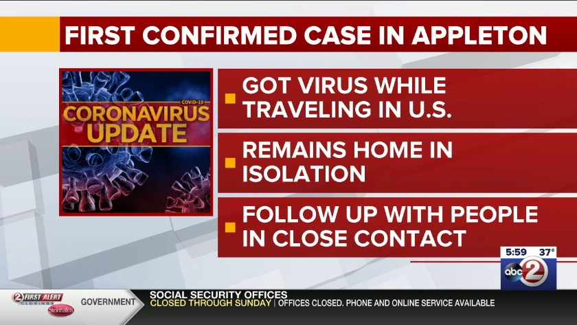 Wisconsin coronavirus cases increase to 114